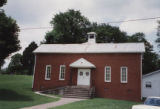 Durham's Chapel School: front annex of church
