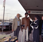Gordy family at Los Angeles International Airport, Los Angeles