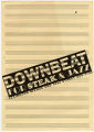 Downbeat for Steak and Jazz, dinner menu
