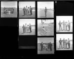 Set of negatives by Clinton Wright including graduation party, Marble Tournament, Rancho graduation, Matt Kelly Softball team, and Ted Michael Woods, 1967