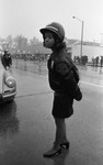 Police Officer at Compton Parade, Los Angeles, 1973