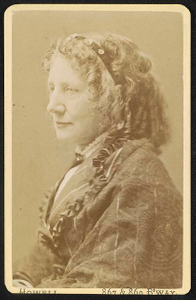 [Author and abolitionist Harriet Beecher Stowe]