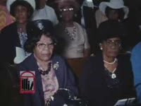 WSB-TV newsfilm clip of Dr. Martin Luther King, Jr. criticizing the Vietnam War and praising Muhammad Ali for being a conscientious objector, speaking from Ebenezer Baptist Church, Atlanta, Georgia, 1967 April 30