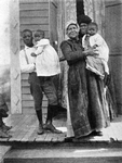 Three generations of Louisiana negroes; Grandmother can only talk Creole French; mother talks French and English; boy only talks English
