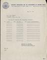 Travel Reimbursement, May 27, 1968