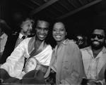 Sugar Ray Leonard, Diana Ross, and Berry Gordy, Las Vegas , 1979