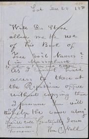 Speech of Wm Lloyd Garrison [manuscript]