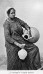 An Egyptian peasant woman