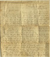 Letter from Charlotte to Samuel Cowles, 1841 April 8.