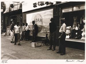 "Untitled--Black Men/""Adam"" Storefront, from the portfolio Photographs of New York"