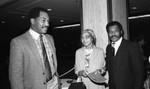 Award ceremony, Los Angeles, 1983