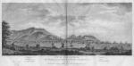 Vue du Cap Francois, Isle St. Domingue, prise du Chemin de L'embarcadere de la petite Anse