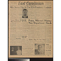 Front page of the East Carolinian, 6 March 1958