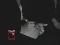 WSB-TV newsfilm clip of Dr. Martin Luther King, Jr. responding to charges of communist influence in the Southern Christian Leadership Conference, Atlanta, Georgia, 1963 July 26