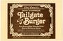 """Chef Oscar's Tailgate Burger"" label"