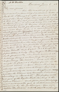 Letter from Sarah Pugh, London, [England], to Anne Warren Weston, June 6, [18]53