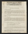 """Publications. Bulletins, 1918-1960. """"""""Colored Workers"""""""" Bulletins, circa, 1945-1950, nd. (Box 55, Folder 14)"""