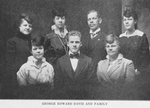 George Edward Davis and family