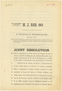 H. J. Res. 60