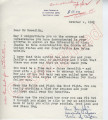 Ann Franklin to Mr. Meredith (1 October 1962)