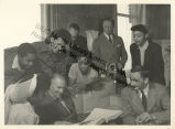 Katherine Dunham and John Pratt with colleagues