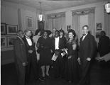 Thumbnail for Selma Burke, with Humbert Howard, Ellis Wilson, and Rex Goreleigh at a Pyramid Club Art Exhibition