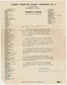 Form letter from Juliette Morgan, secretary of the Women's Division of the Citizens' Committee Against Amendment 4, to Albertine Campbell.