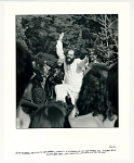 """Allen Ginsberg dancing to the Grateful Dead at a gathering of the Tribes for a """"Human Be-In,"""" Golden Gate Park, San Francisco, CA, January 14, 1967."""
