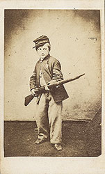 Portrait of a Boy Dressed as a Soldier