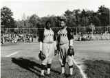 """Mohawk Giants players Art """"Duck Soup"""" Milton and Elmore """"Scrappy Brown"""""""
