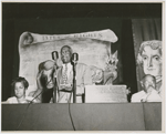 William L. Patterson, executive director of the Civil Rights Congress, addressing the Bill of Rights Conference, circa 1940s