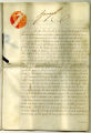 Royal Warrant, July 28, 1817, signed by George IV