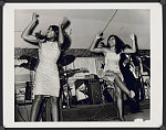 [Tina Turner and one of the Ikettes performing at Club Paradise, Memphis]