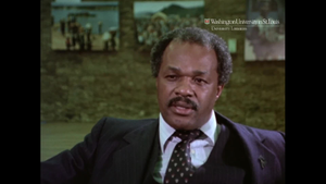 Eyes on the Prize; Interview with Marion Barry
