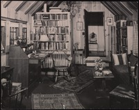 Interior of Five Acres: Upstairs study