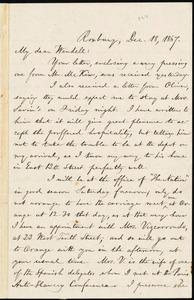 Letter from William Lloyd Garrison, Roxbury, [Mass.], to Wendell Phillips Garrison, Dec. 18, 1867