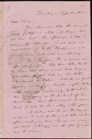 Letter to] Dear Henry [manuscript
