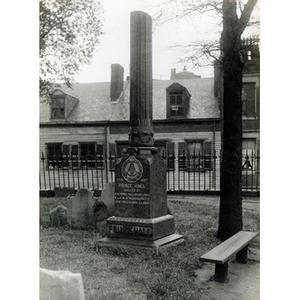 The gravesite of Prince Hall (1)