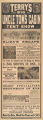 Terry's Big Uncle Tom's Cabin Tent Show herald, July 3, 1920