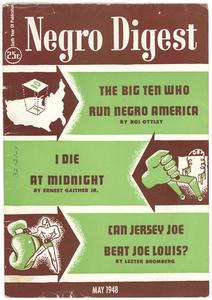 Negro Digest volume 6, issue 7