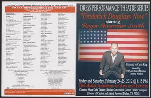 Program: Frederick Douglass Now