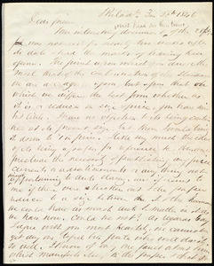 Letter from Edward Morris Davis, Philad[elphia], [Penn.], to Maria Weston Chapman, 3 m[onth] 20th [day] 1846