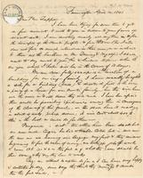Letter from A.F. Williams to Lewis Tappan