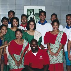 Filipino American Student Association dancers at 2000 MCOR