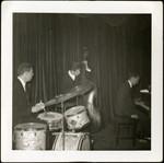 Jazz trio at the Boule Noire, 238 Columbus Ave.
