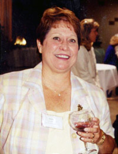 2002 Inductee, Donniella Winchell; Director of the Ohio Wine Producers Association