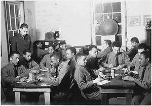 Civilian Conservation Corps, Kane, Pennsylvania, Co. 2314-C: radio code practice