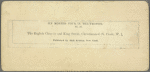 The English Church and King Street, Christiansted, St. Croix, W. I