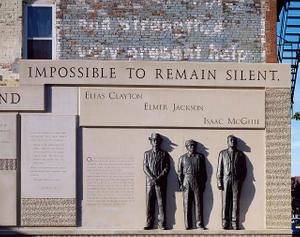 Clayton Jackson McGhie memorial, Duluth, Minnesota