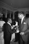 Mayor Bradley and Sammy Davis Jr., Los Angeles, 1989